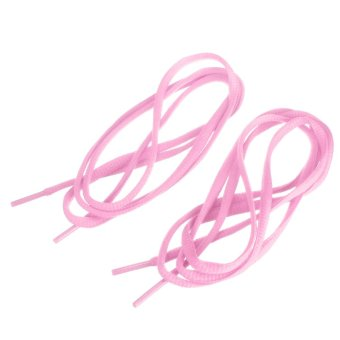 Oval Sports Sneaker Boots Shoe Laces 1Pair (Intl)
