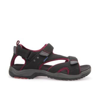 Giày Sandal Da Geox U AIACE WF G (Đen)