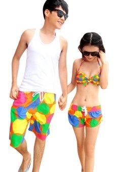 Quần short đôi đi biển Family Shop QD13