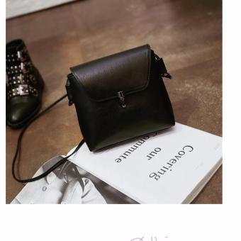 Túi xách thời trang giả da BS1( đen)