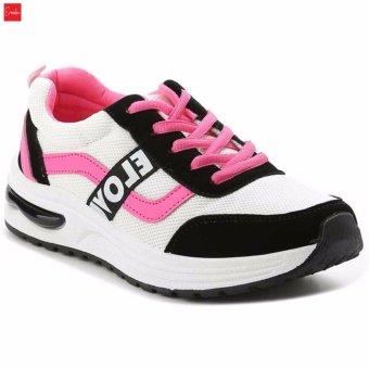 Giày Sneaker Thời Trang nữ Erosska - GN022 (Trắng)