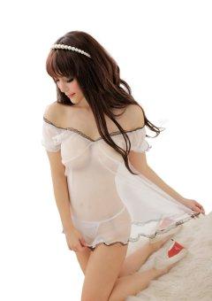 Đầm ngủ E209 (Trắng)