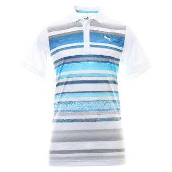 Áo golf nam ngắn tay PUMA Washed Stripe Polo PC