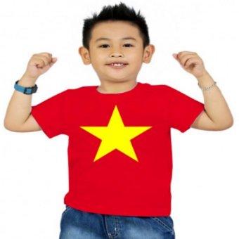 Áo thun bé trai Kỳ Khang BT09 (Đỏ)