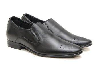 Giày tăng chiều cao nam Manaroda HN 934 cao 6cm (Đen)