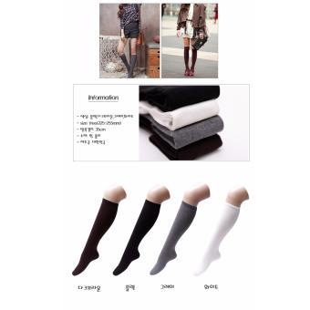 Vớ thời trang nhập khẩu Hàn Quốc hiệu Aglaia màu tím/ghi
