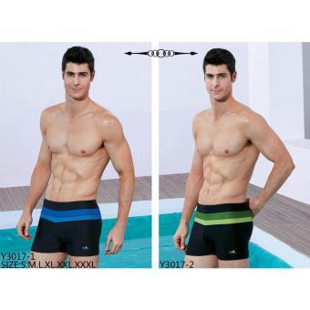 Quần bơi Yingfa Y3017-2 (cạp xanh lá)