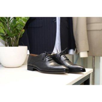 Giày da nam cao cấp đế cao su sang trong