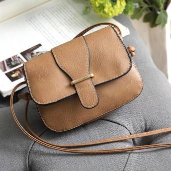 Womens Leather Purse Satchel Cross Body Shoulder Bag Messenger Bag KH - intl
