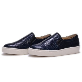 Giày Slip - On MUST Korea Da Trăn