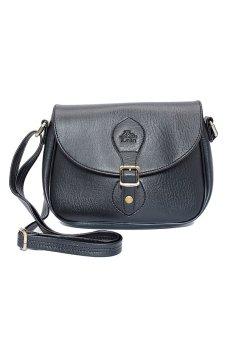 Túi đeo chéo LATA HN14 (Da đen )