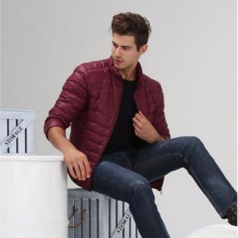 Áo khoác phao nam siêu nhẹ L&A fshion (Đỏ đô)
