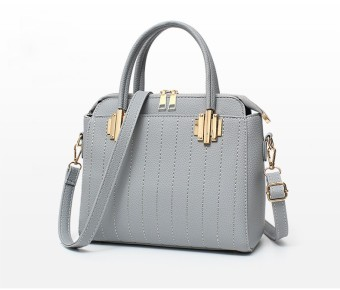 Túi xách nữ da cao cấp PG BAG TX015-HR-3A5 (Xám)