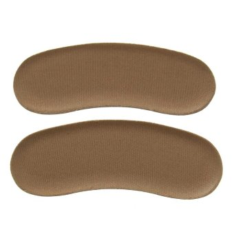 Sticky Fabric Shoe Back Heel Inserts Insoles Protector Pads Cushion Liner Grips - intl