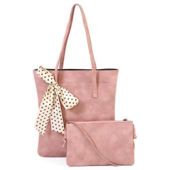 Bộ túi xách và túi đeo chéo thời trang GgCBTX02 (Hồng)