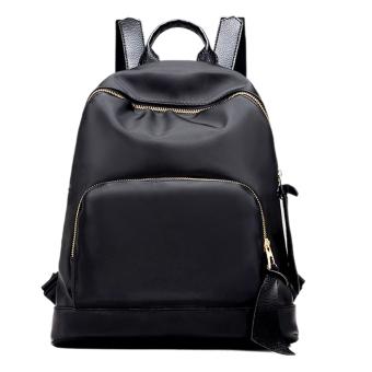 New Women Waterproof Nylon Backpack Fashion Girls Travel School Backpack - intl