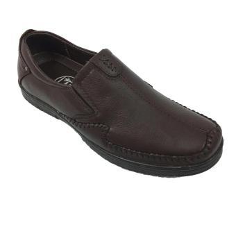 Giày Lười da cao cấp phong cách thời trang Evest Ev157 D212