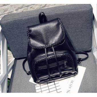 Ba lô da nư thời trang bl 039 - tặng móc khoá Hanama