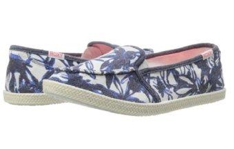 Giày lười nữ Roxy Women's Lido Rope II Flat, Blue Haze (Xanh)