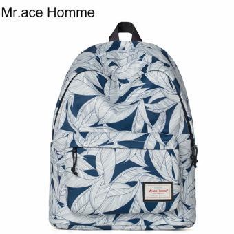 Balo Thời Trang Mr.ace Homme MR16B0321B01 / Trắng phối xanh