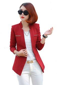 Áo khoác vest nữ AKVN93 Có lót thân (Đỏ)