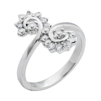 Nhẫn bạc nữ Bạc Ngọc Tuấn T02NHU000330