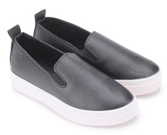 Giày lười thể thao nữ AZ79 WNTT01200149 (Đen)