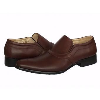 Giày tây da bò màu nâu đỏ ATTOM | AT2026T.2