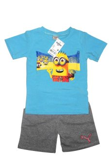 Bộ quần áo Minon bé trai (Vàng xanh)