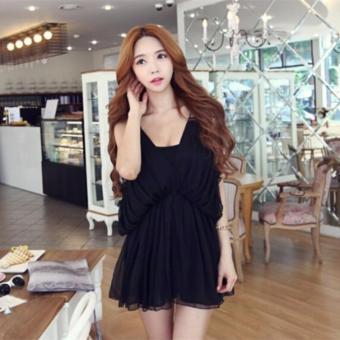 Váy voan tay rơi kiểu Hàn Quốc xinh xắn