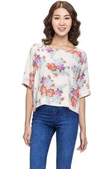 Áo tay raglan New Look 3188420 (Trắng)