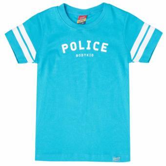 Áo thun trẻ em Police nhập khẩu Thái Lan KC013 Blue