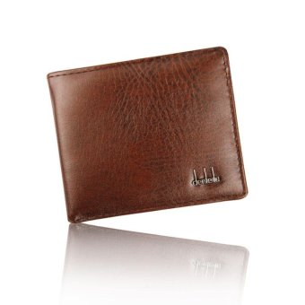 Men Bifold Business Leather Wallet ID Credit Card Holder Purse Pockets BK Free Shipping - intl