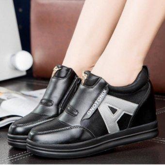 Giày slipon đế độn chữ A TT047D