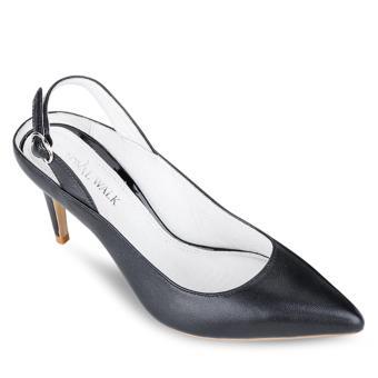 Giày cao gót Royal Walk đen quai