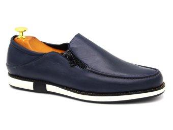 Giày Lười Nam Cao Cấp Antoni Fernando - AF1034 - Xanh Đen