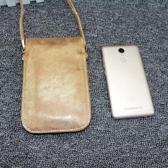 Women Fashion Applique Mobile Phone Bag Clutch Purse Shoulder Bags GD - intl