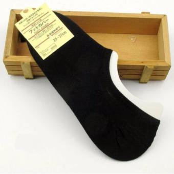 Vớ (Tất) nửa bàn chân sợi tre khử mùi Nhật (đen)