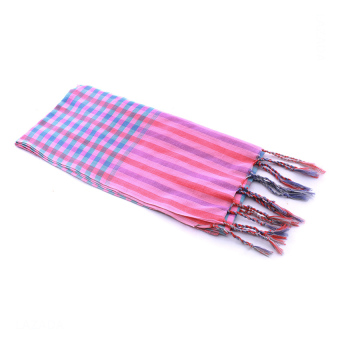 Khăn rằn thời trang Caro Colorful Scarf (Colorful)