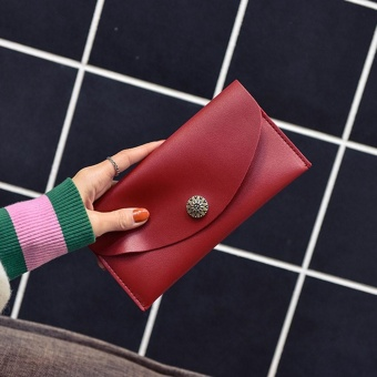 Women Daily Use Clutches Handbag Quality Clutch Purse Fashion Handbag Wallet RD - intl