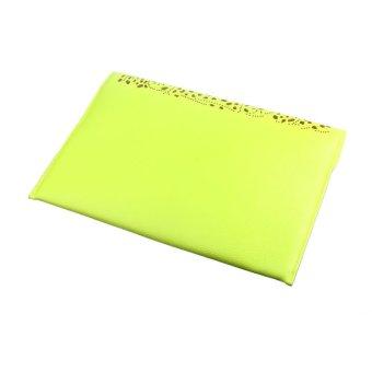 Fashion Women Envelope Clutch Shoulder Messenger Bag Purse Handbag Yellow