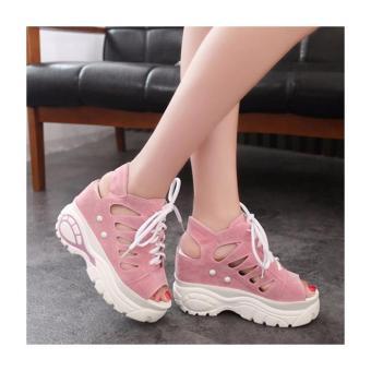 Giày Sandal tăng chiều cao hàng nhập - LN375