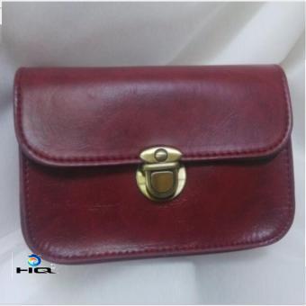 Túi đeo chéo thời trang phong cách Hàn Quốc HQ 81TU43 3 (đỏ)