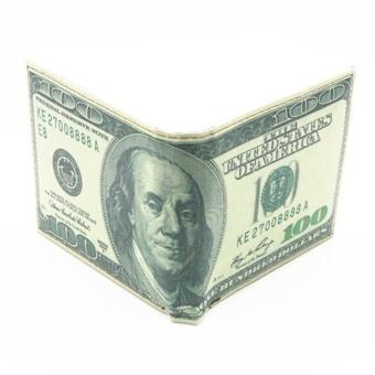 Ví nam hình tiền đôla.