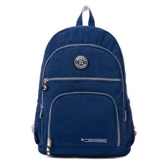 Waterproof Nylon Travel Satchel Shoulder Bag Backpack School Rucksack - intl
