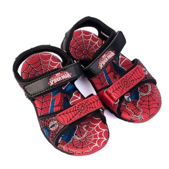 Giày Sandal Bé Trai Biti's Spider Man Người Nhện DTB062311DOO (Đỏ)