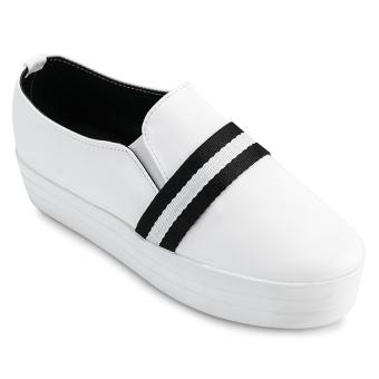 Giày bata nữ Sarisiu XS747 (Trắng)
