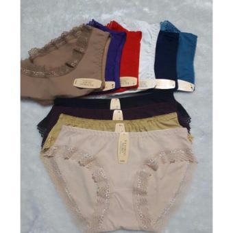 bộ 5 quần lót ren thông hơi (tùy màu)