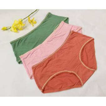 Bộ 10 quần lót nữ cotton mịn cao cấp dưới 50kg CTM110