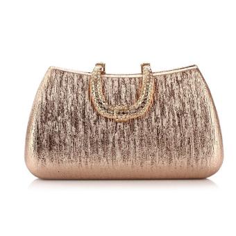 Rhinestone Crystal Evening Clutch Bag Wedding Party Wallet Shoulder Messenger Handbag Champagne